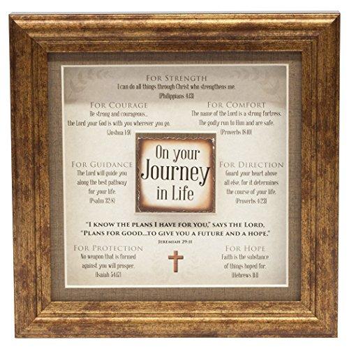 - Carpentree On Your Journey Framed Art, 8.5 x 8.5