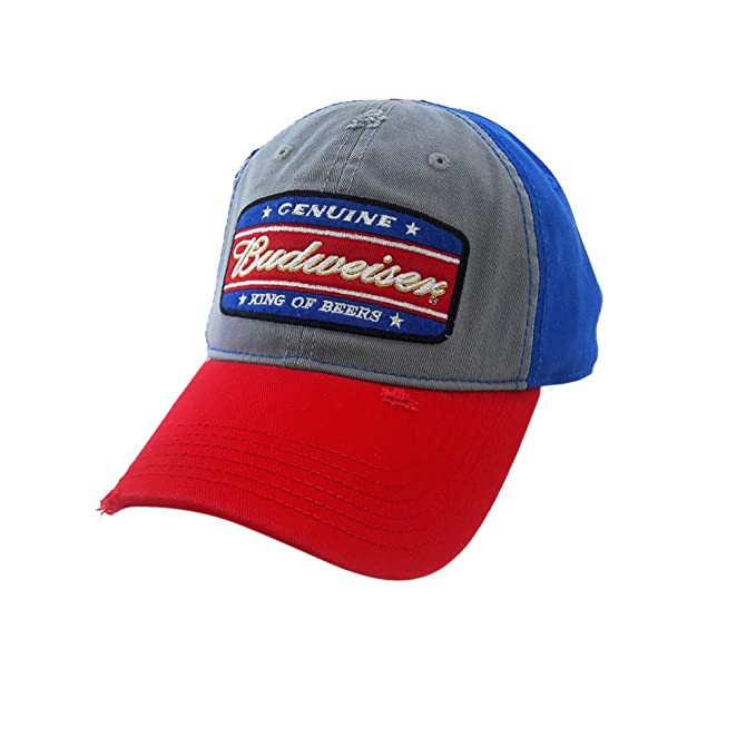 52f79ee4bba Image Unavailable. Image not available for. Color  Genuine Budweiser King  of Beers Snapback Hat ...