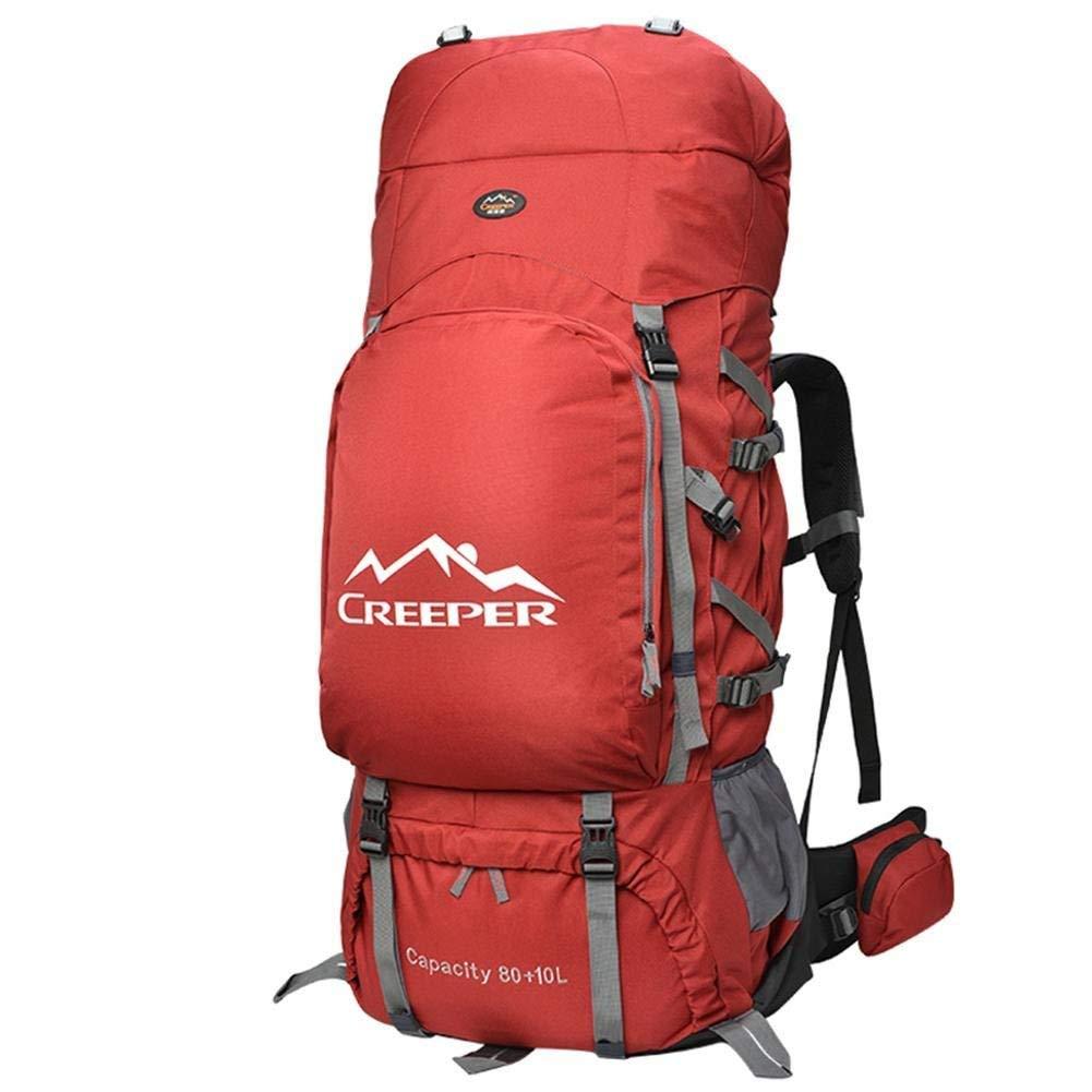 Eeayyygch 90L Professional Outdoor Klettern Schultern Wandern Wasserdichte Männer Und Frauen Reise Sport Bergsteigen Tasche (Farbe : -, Größe : -)