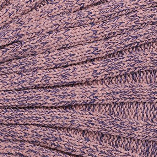 Yowao Mermaid Tail Blanket Adult Handmade Knitted Fish Scales Pattern and All Seasons Warm Your Feet Sleeping Bag 74.86 x 35.46 inch (190x90cm) (Dark Pink)