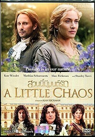 Amazon com: A Little Chaos (Region 3, Alan Rickman, DVD