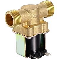 "UKCOCO 1/2""NPSM DC 12V 2 vías Válvula electromagnética"