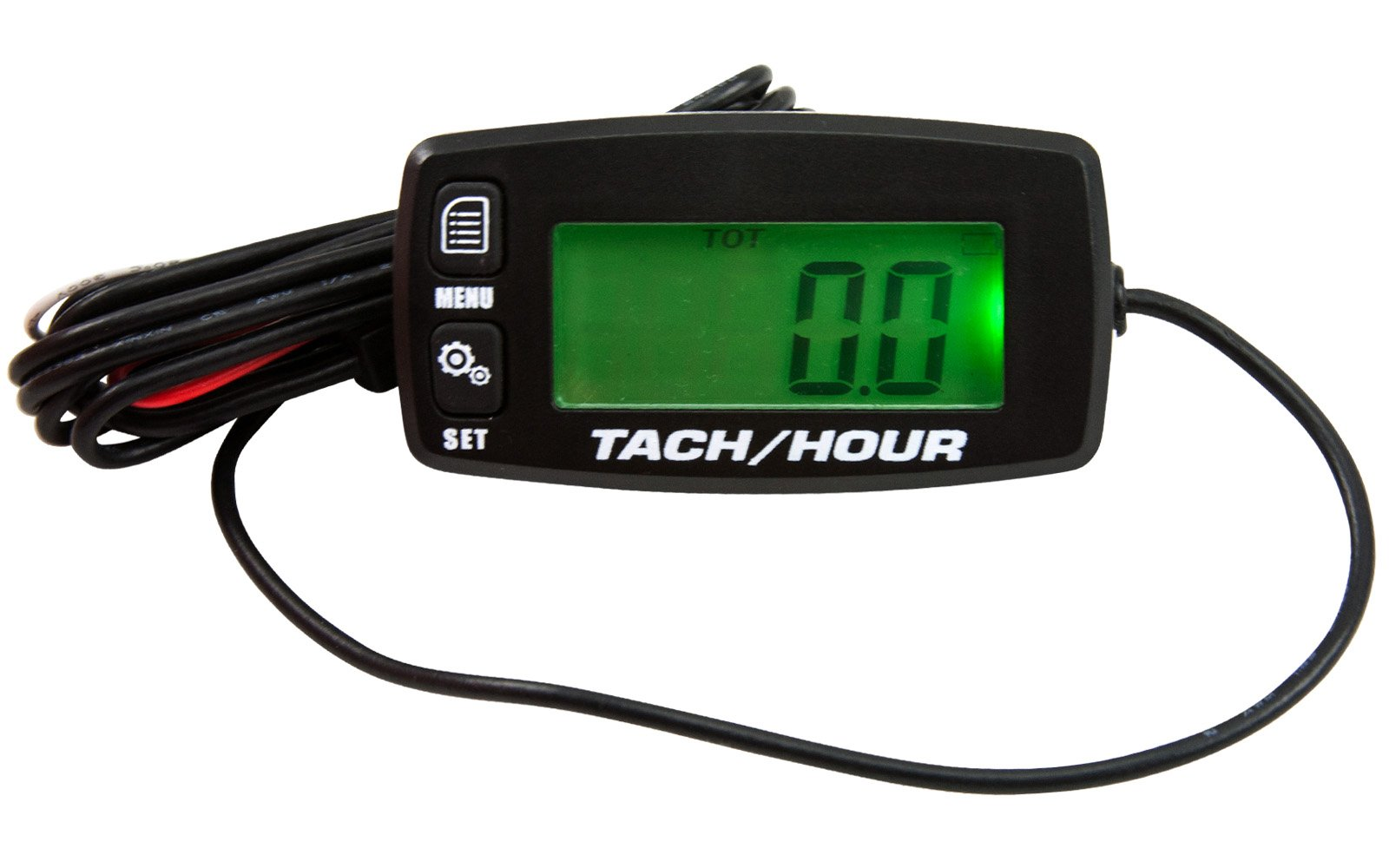 New Back Lit LCD Tach / Hour Meter Service & Job Timers w/ Replaceable Battery by Other (Image #1)