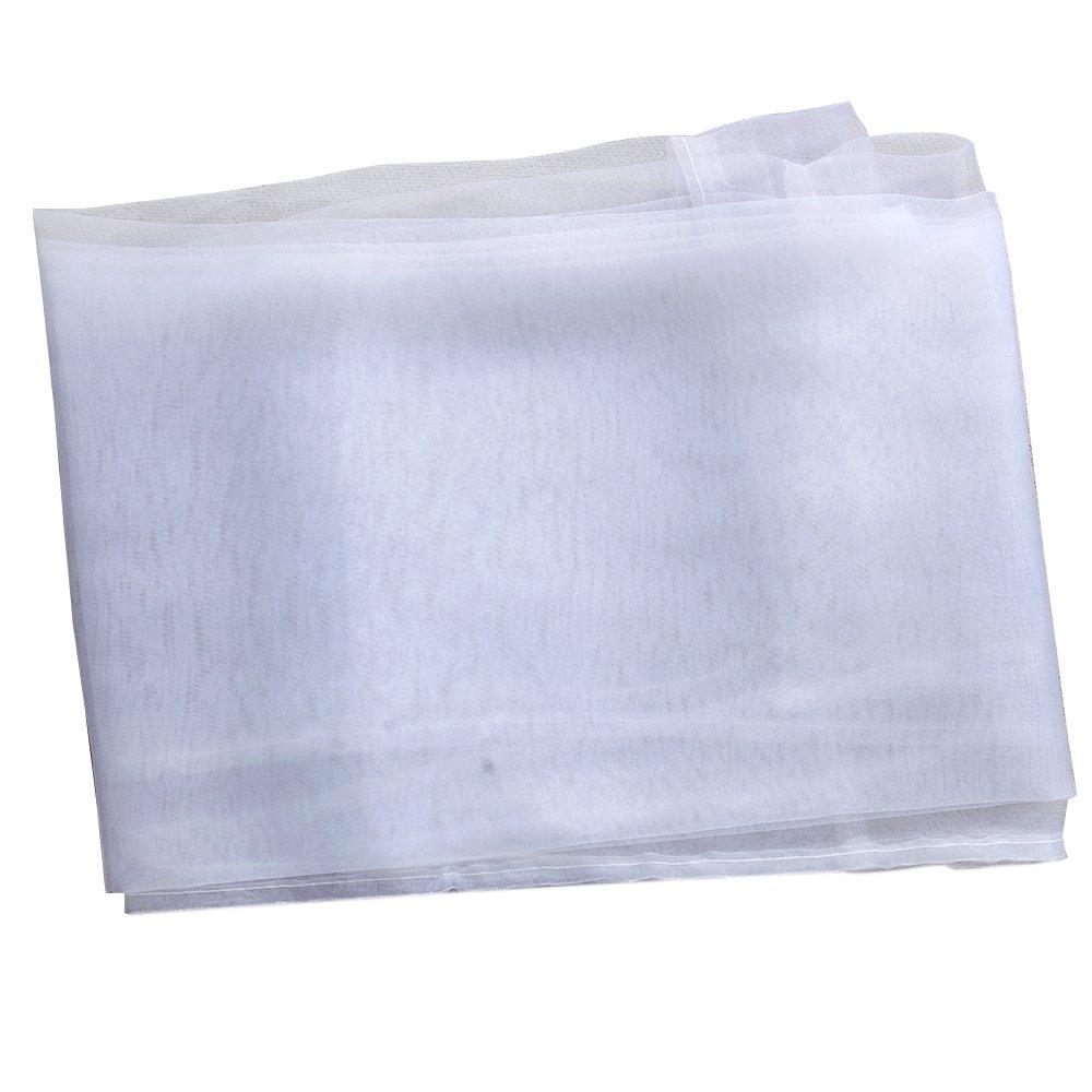 /100/cm x 200/cm Blanco display08/Hilo Cristal de Color Puro Pura Cortina de Ventana Valance hogar Dormitorio Boda decoraci/ón/ Sobre Barra