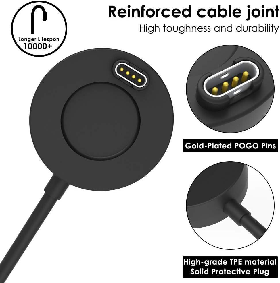Eg /_ Eg /_ Ersatz Ladekabel USB Ladegerät Dock für Garmin Fenix 5// 5S// 5X Plu