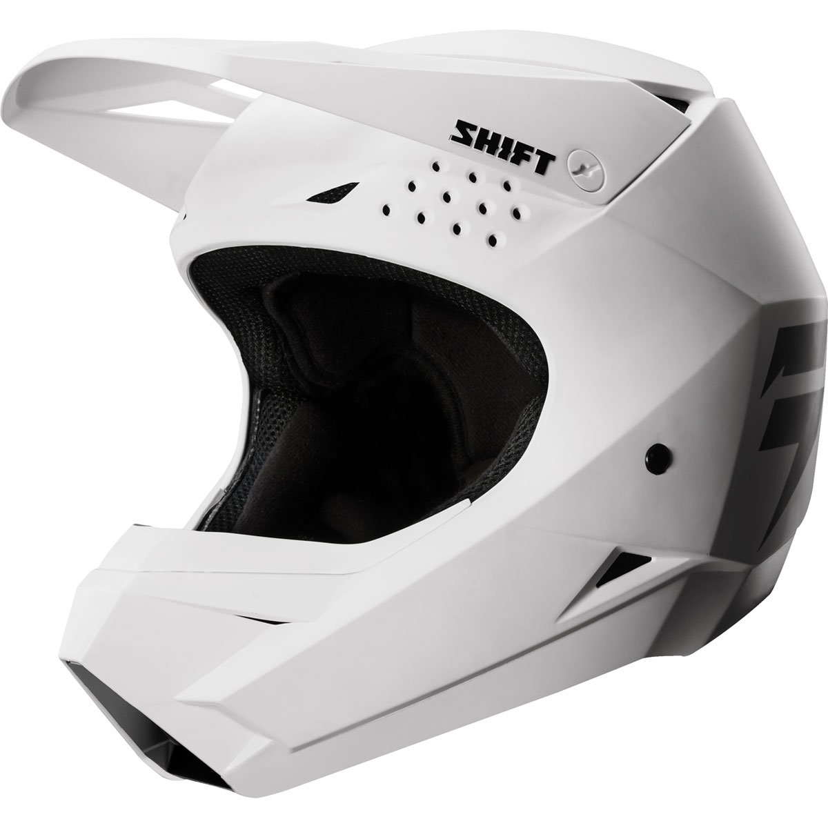Shift Racing Whit3 Men's Off-Road Motorcycle Helmets - White / X-Small