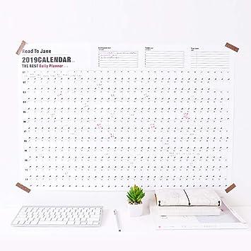 Calendario de planificación de planes 2019 - Planificador de ...