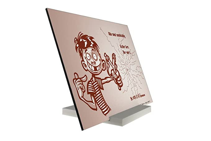 Soporte Fotografias Dibujos Animados Pit Hammann Larswas que Pared Letrero: Amazon.es: Hogar