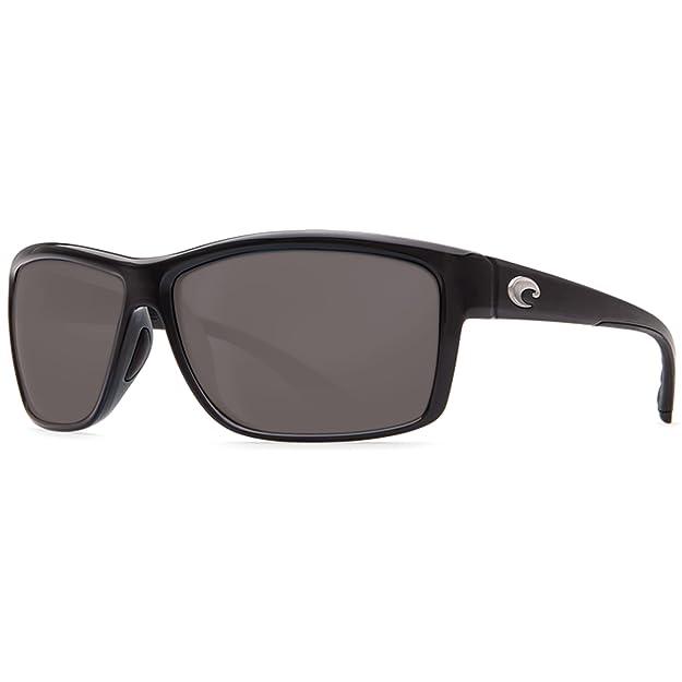 8abb55a86 Amazon.com: Costa Del Mar Mag Bay Sunglasses, Matte Gray, Gray 580P Lens:  Shoes