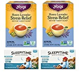 Yogi Honey Lavender Tea and Celestial Sleepytime Extra Tea. Convenient One-Stop Shopping For These Tension Tamer Teas. Easy to Source for Hard to Find Products. How to Calm Your Nerves Naturally!