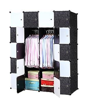 Kleiderschrank Schwarz Weiß | jamgo.co