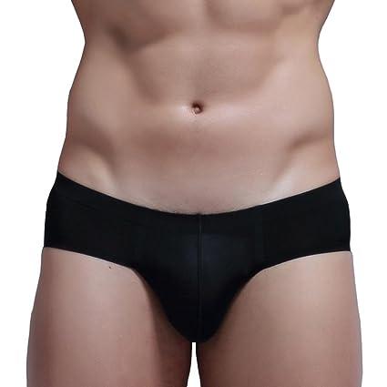 Bóxers Hombre, Manadlian Calzoncillos para hombres Sexy Ropa interior sin costura Pantalones cortos Respirable Briefs