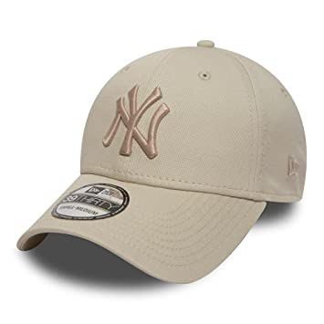 585865cddb3 New Era 39Thirty Flexfit Cap York Yankees stone beige - XS S