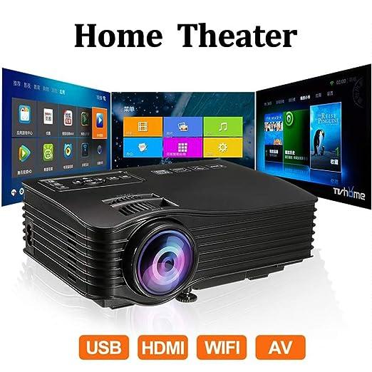 KAIDILA Proyector, Mini proyector MAX 130 Pulgadas HD LED ...
