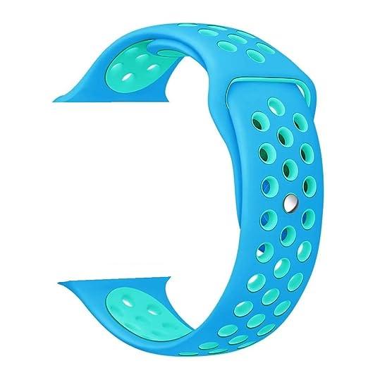 135 opinioni per ZRO Smartwatch Cinturino, Morbido Silicone Sport Cinturini di Ricambio per Apple