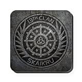 CafePress - The 100 - 13th Clan Skaikru Cork Coaster - Square Coaster, Cork Drink Coster