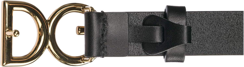 Dolce/&Gabbana men belt nero//oro vintage