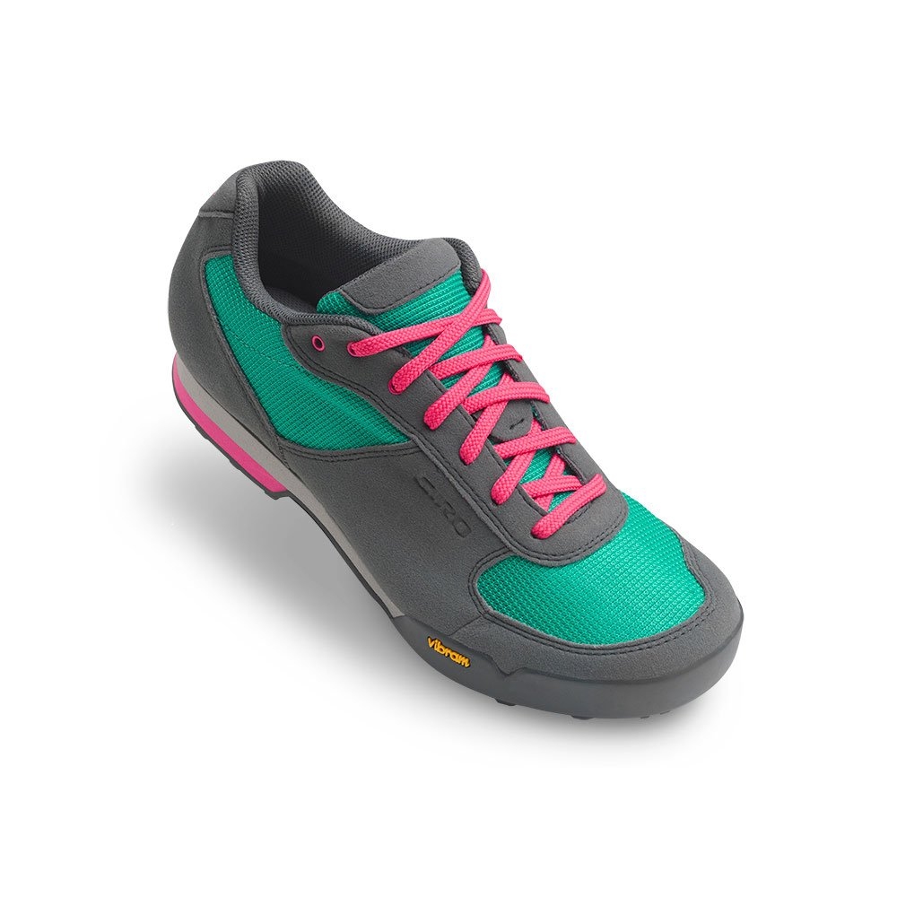 Giro Petra Vr Womens MTB Shoes Turquoise/Bright Pink 41 by Giro (Image #1)