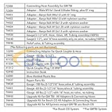 BETOOLL Pro Fuel Injection Pressure Tester Kit