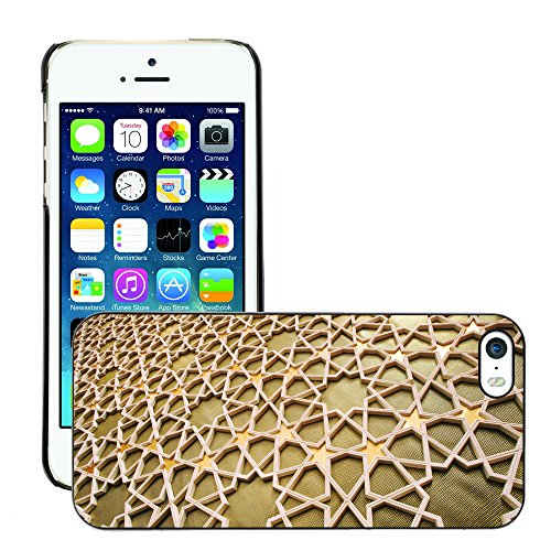 Premio Sottile Slim Cassa Custodia Case Cover Shell // V00001914 motif islamique // Apple iPhone 5 5S 5G