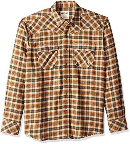 ARIAT Men's Retro Fit Long Sleeve Snap, Walken Multi, XL