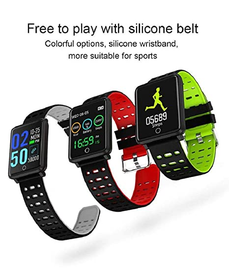 SmartWatch - Reloj cronógrafo Smartband F3 Impermeable ...
