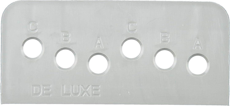 Tirador para puerta de balc/ón y terraza color blanco aluminio Delux RAL 9016