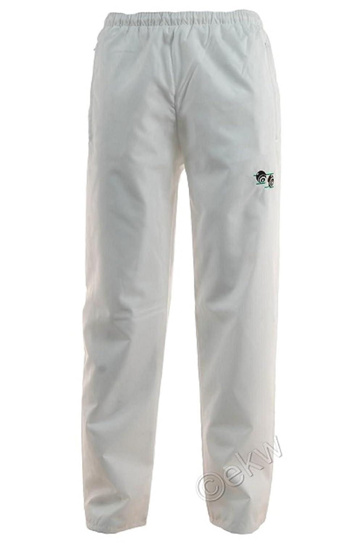 New de pétanque Unisexe Men's Woman's Pantalon imperméable avec Logo Taille élastique ajustable