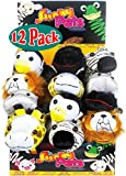 POOF-Slinky 8-1003BL Slinky Pets Plush Pals - 12 Pack