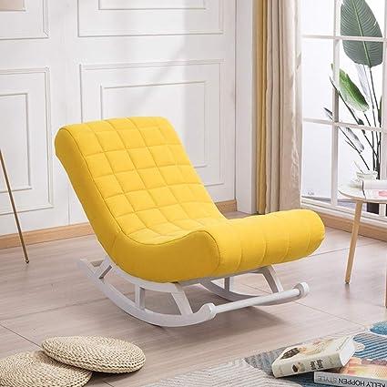 Amovible Coussin Chaise En Tissu Berçante Et SimpleDe 8Onwk0P