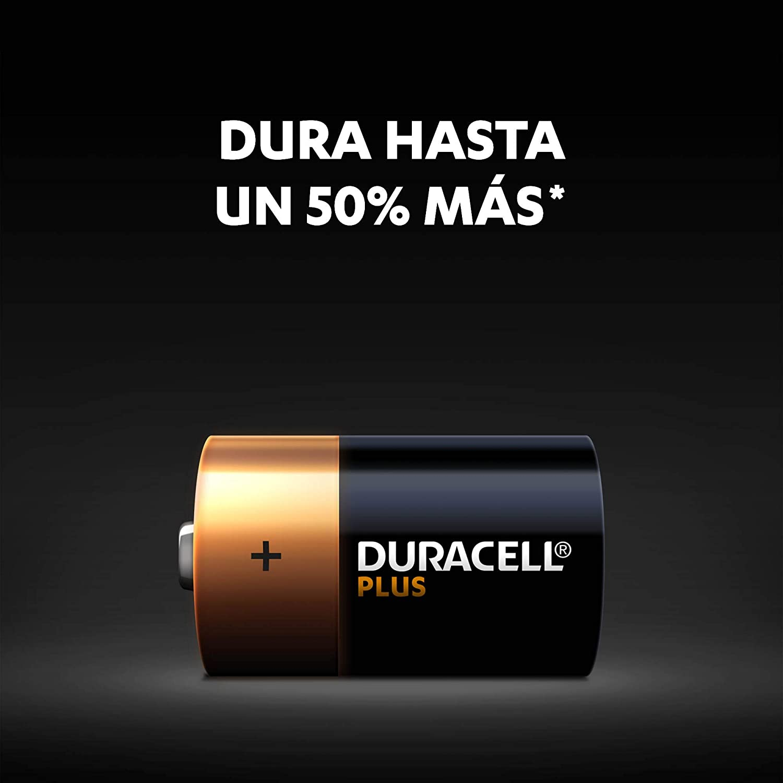 Plus C paquete de 2 Duracell Pilas Alcalinas 1.5 Voltios LR14 MX1400