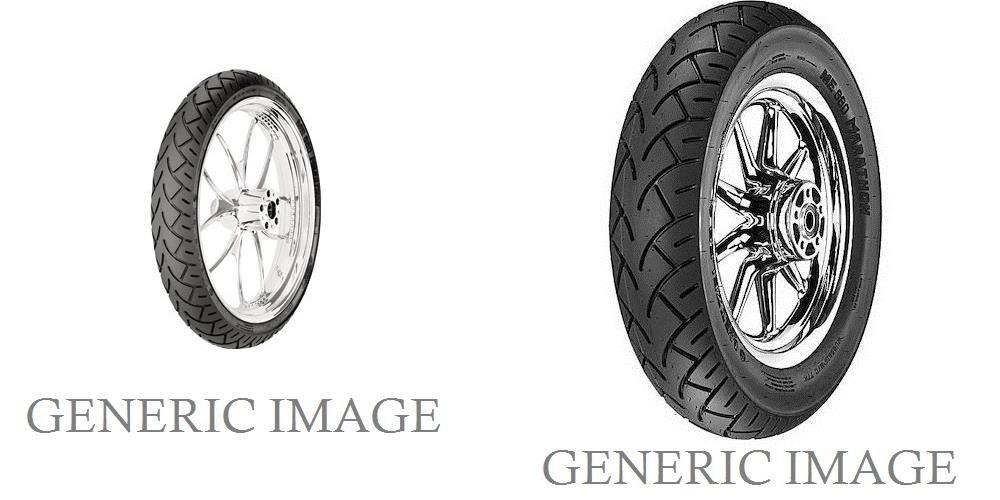 METZELER V-Rated ME 880 Marathon Front & Rear Tire Set, 140/75R17 67V & 200/60R16 79V