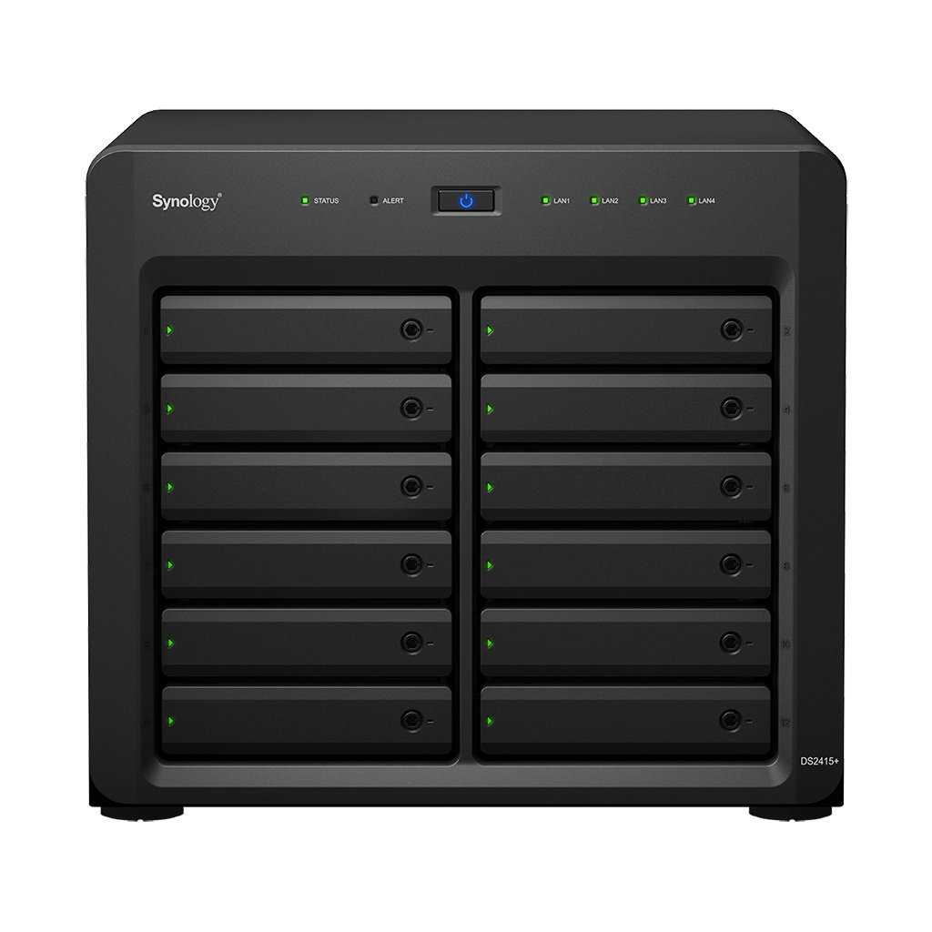 Synology 12 bay NAS DiskStation DS2415+ (Diskless) by Synology (Image #1)