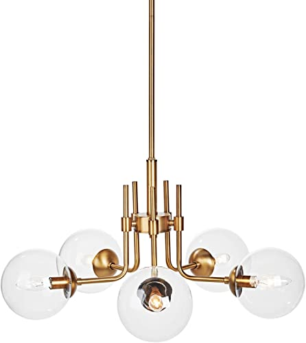 MOTINI 5-Light Sputnik Chandelier