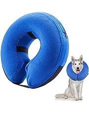 Frifer Hundehalsband, aufblasbar, Schutzkragen, verstellbar