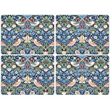 Pimpernel William Morris Strawberry Thief Blue Placemats - Set of 4