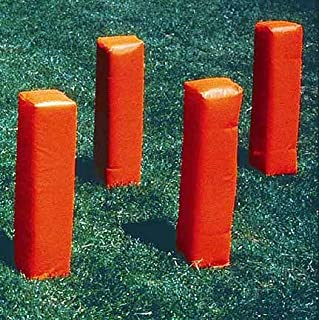 Football Weighted Corner Pylons in Orange – Set di 4