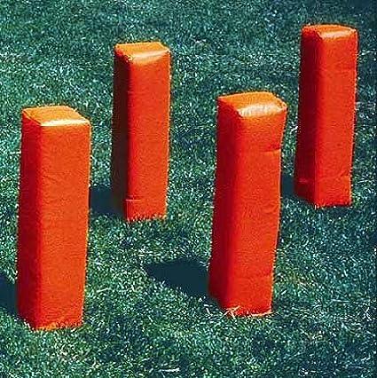 Football Weighted Corner Pylons in Orange–Set di 4