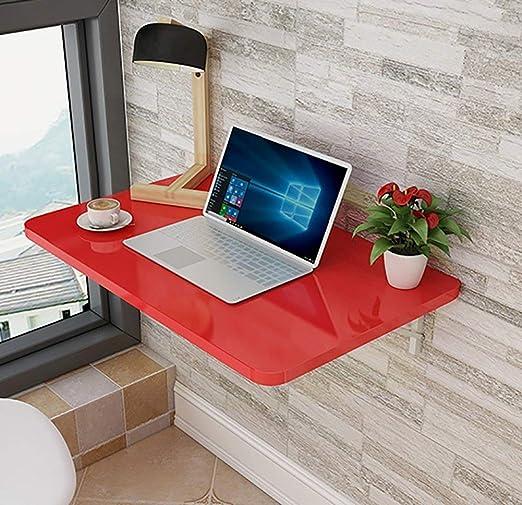 MOM Escritorio de la computadora montado en la pared del hogar ...