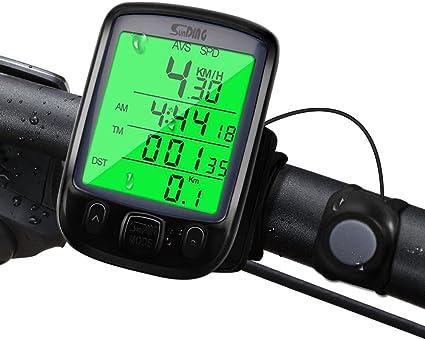 Fahrradcomputer Wasserdicht Fahrradtacho Tachometer Speed Tacho Kilometerzähler