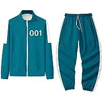 WATERSPA Inktvis Game Merch Hoodie Broek Tweedelige Set Squid Game 456 067 001 Trainingspakken Sweatsuit Outfit Set…