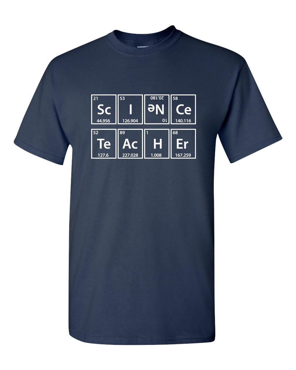 Science Tea Elets Periodic Table Professor Funny S Adult T Shirt 4106