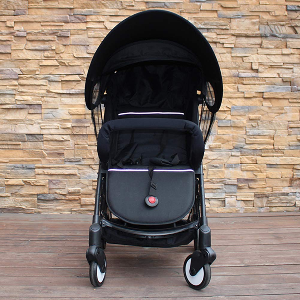ZLMI Baby Stroller Sunshade Canopy, Universal Baby Stroller Sun Shade Awning, Toddler Pushchair Sun Shade Canopy Cover,UV Protection Infant Trolley Parasols by ZLMI (Image #3)