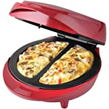 New Non-Stick Electric Double Omelette Maker Red. by Better Chef