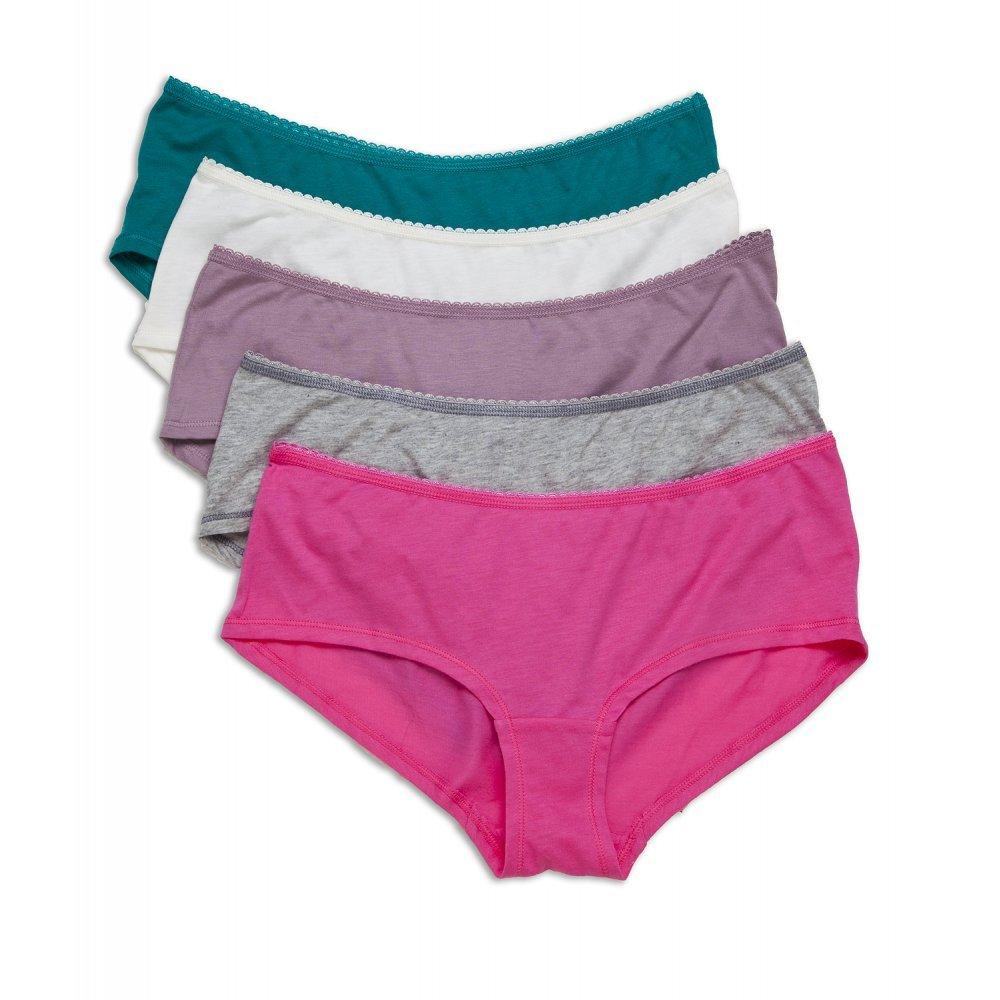 gemischte Farben 5 St/ück Camille Slips aus Baumwolle//Modal