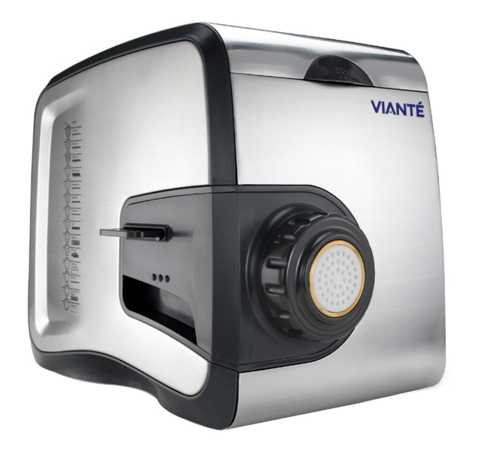 Viante CUC-26PM Pasta Perfetto Electric Pasta Maker and Extruder with 14 Interchangeable Discs by Viante