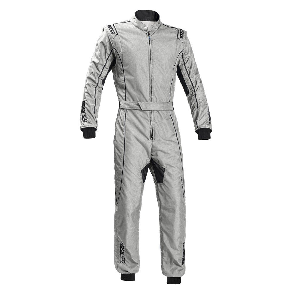 Sparco Groove KS-3 Kart Racing Suit 002334 (Size: Large, Silver) by Sparco