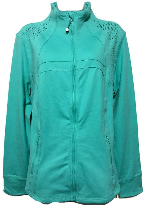 Green Tea Womens Full-Zip Active Jacket