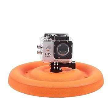 Flotante Flotador Frisbee, Floating Mount para GoPro Accesorios Hero Hero3 Hero4 Hero5 SJCAM cámara de