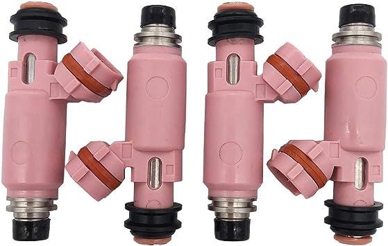 4Pcs NEW 565cc Fuel Injector For Subaru STI WRX Forester 16611AA370 16611-AA370